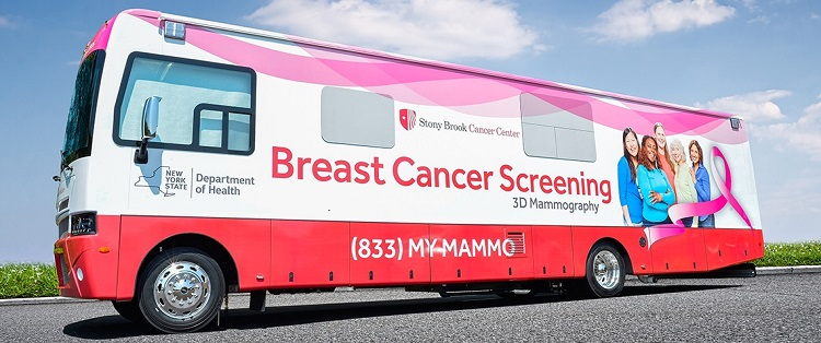 Mobile Mammography is Heading your Way | Stony Brook Cancer