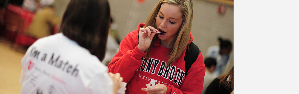 Join us at the Stony Brook Bone Marrow Drive on March 25