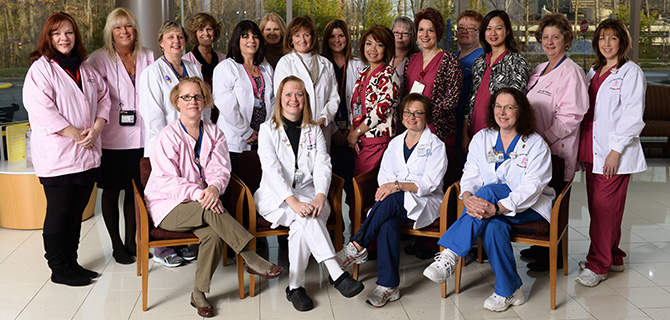 Breast Cancer Team Photo