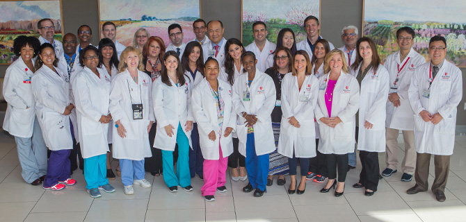 Radiation Oncology Team Photo