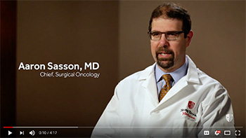 Dr. Aaron Sasson explains Whipple Procedure