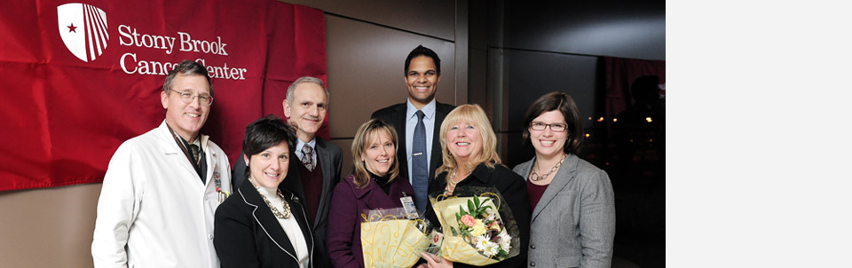 Lung Cancer Alliance honors two Stony Brook nurses for their dedication