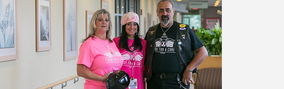 Join us on October 11 on our inaugural motorcycle run to raise awareness and funds for patients with breast cancer