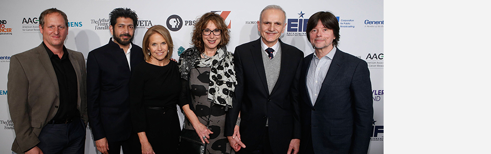 SU2C/PBS mentoring education initiative involving Stony Brook announced at screening event for 'Ken Burns Presents Cancer: The Emperor of All Maladies'