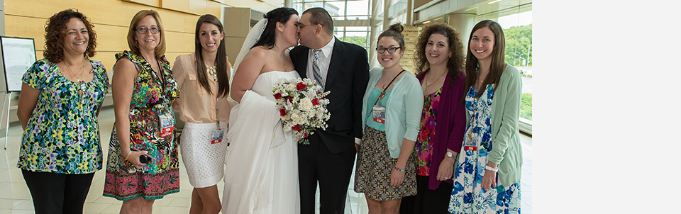 "Leukemia patient and fiancé say ""I Do"" in Hospital Chapel"